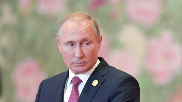 Президент РФ В. Путин на саммите ШОС в Китае. День второй - Sputnik Ўзбекистон