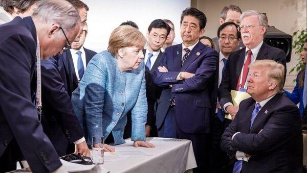Фото, сделанное на полях саммита G7 - Sputnik Ўзбекистон