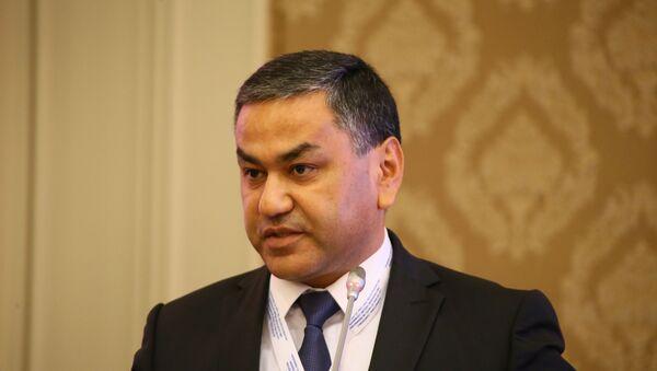 Председатель Совета молодежи Узбекистана Кахрамон Куранбаев - Sputnik Узбекистан
