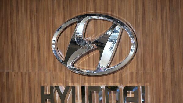Логотип компании Hyundai - Sputnik Узбекистан