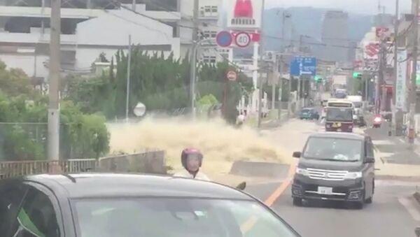 СПУТНИК_Землетрясение в Японии - Sputnik Узбекистан