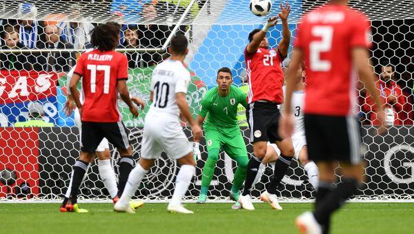 Футбол. ЧМ-2018. Матч Египет - Уругвай - Sputnik Узбекистан