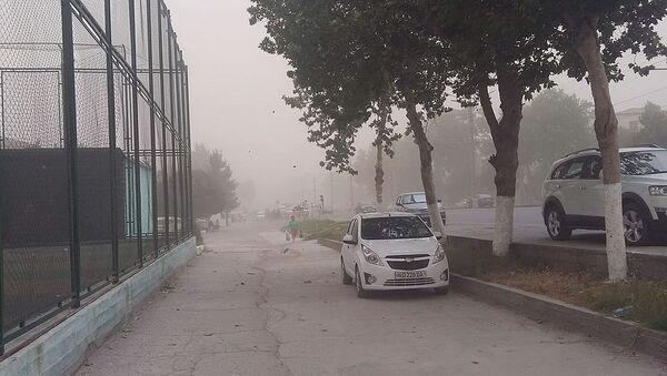 Песчаная буря в Самарканде - Sputnik Ўзбекистон