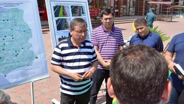 В Андижане будут развивать сеть велосипедных дорожек и пунктов проката велосипедов - Sputnik Ўзбекистон