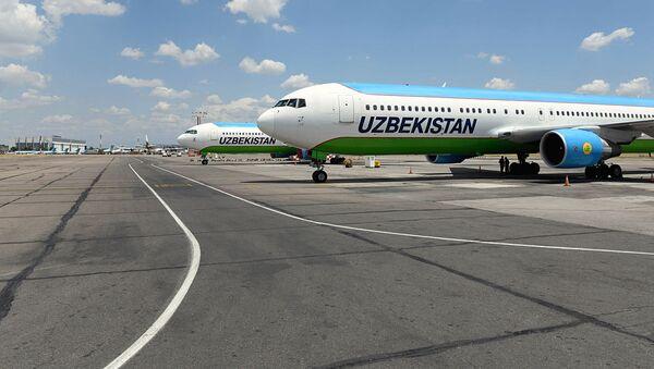 Самолеты авиакомпании Узбекистон хаво йуллари - Sputnik Узбекистан