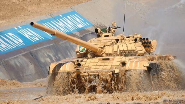 Tankovыy biatlon vpervыe proydet v Tashkente - Sputnik Oʻzbekiston