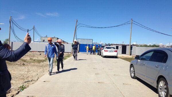 Migrantы na rabote v Sankt-Peterburge - Sputnik Oʻzbekiston