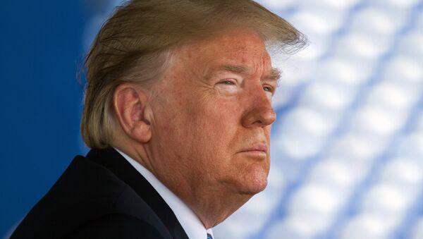 Президент США Дональд Трамп. - Sputnik Узбекистан