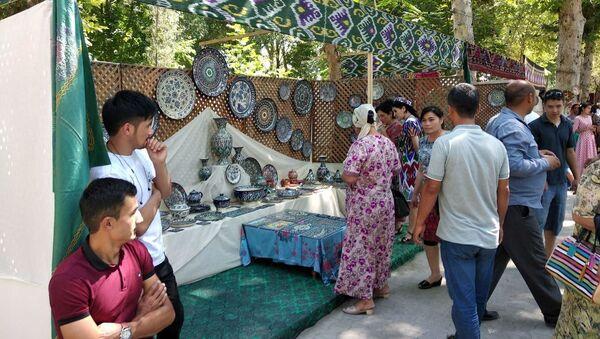 Выставка керамики в Риштане - Sputnik Ўзбекистон