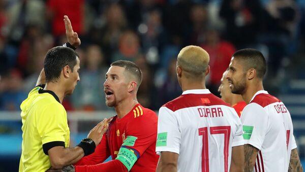 Футбол. ЧМ-2018. Матч Испания - Марокко - Sputnik Ўзбекистон