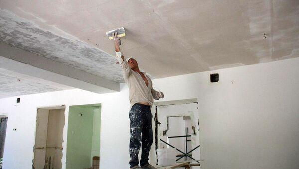 ГУВД г. Ташкента участвует в работах по капитальному ремонту детского сада в Шайхантахурском районе - Sputnik Узбекистан