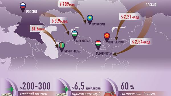 Сколько денег мигрант отправляет домой - Sputnik Узбекистан