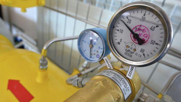 Блок редуктирования, для регуляции давления газа в трубопроводе - Sputnik Ўзбекистон