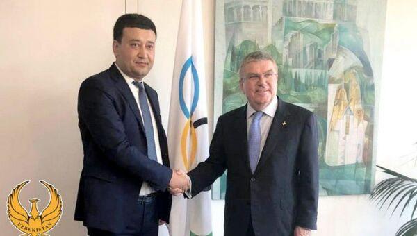 Президент НОК Узбекистана встретился с Томасом Бахом - Sputnik Узбекистан