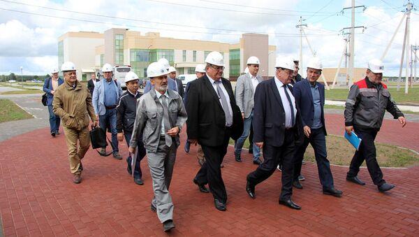 Делегация из Узбекистана посетила Белорусскую АЭС - Sputnik Ўзбекистон