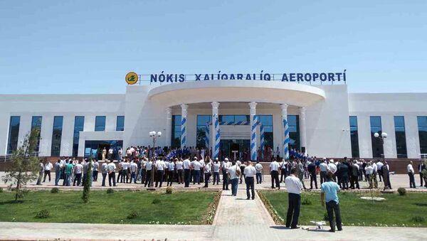 Новое здание аэропорта в г.Нукус - Sputnik Узбекистан