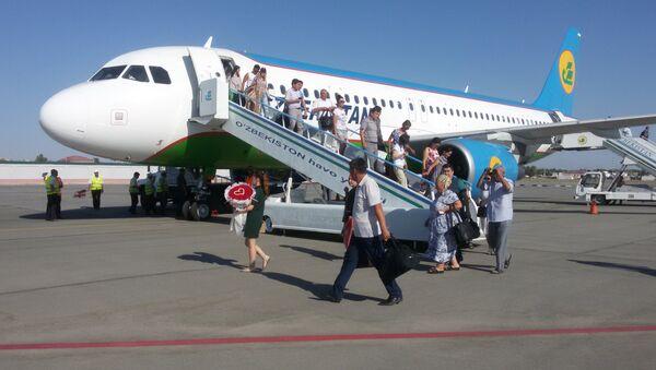 В международном аэропорту Нукус введен в эксплуатацию новый пассажирский терминал  - Sputnik Ўзбекистон