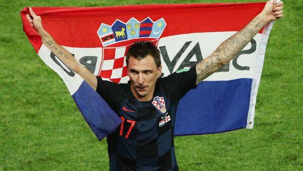 Футбол. ЧМ-2018. Матч Хорватия - Англия - Sputnik Узбекистан