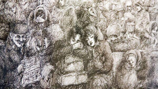 Выставка Салиджона Маматкулова Зеркало души - Sputnik Узбекистан