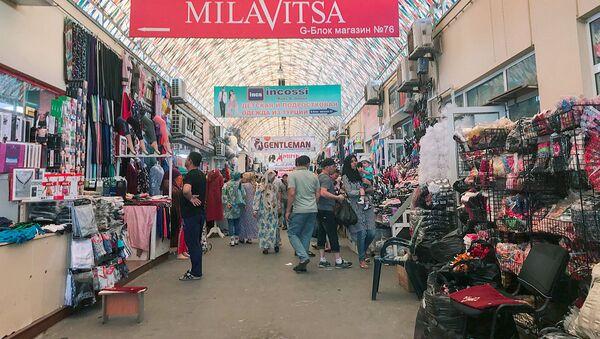Рынок Абу-Сахий в Ташкенте  - Sputnik Ўзбекистон