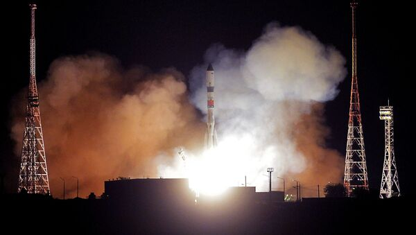 Пуск ракеты-носителя  - Sputnik Узбекистан
