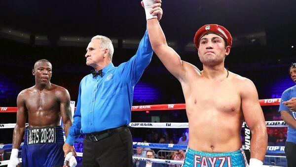Фазлиддин Гаибназаров одержал победу в поединке против американца Кевина Джонсона - Sputnik Ўзбекистон