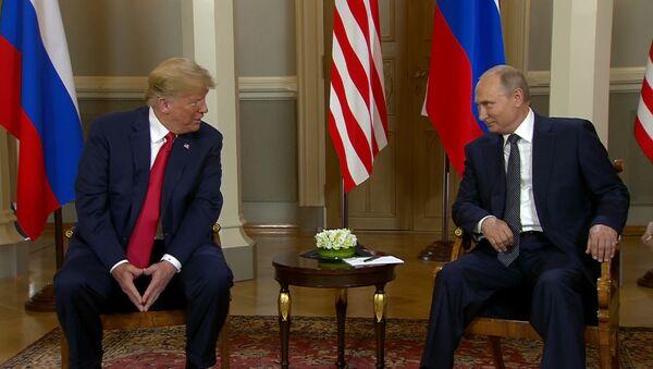 Встреча Путина и Трампа в Хельсинки - Sputnik Узбекистан