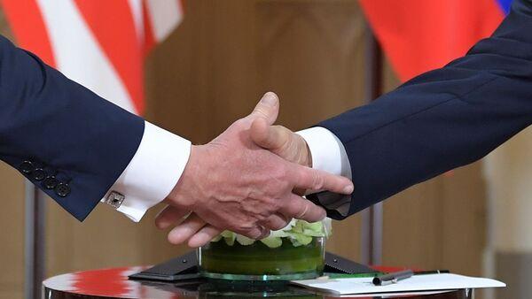 Встреча Владимира Путина и Дональда Трампа в Хельсинки - Sputnik Узбекистан