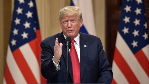 Президент США Дональд Трамп - Sputnik Ўзбекистон
