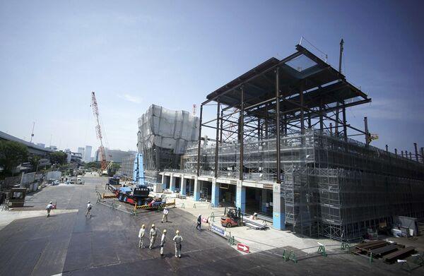 Токио 2020: строительство Олимпийской деревни в Японии - Sputnik Узбекистан