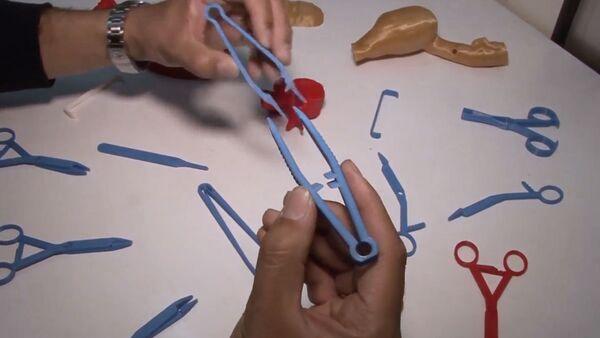 СПУТНИК_Напечатанные инструменты для хирургов - Sputnik Узбекистан