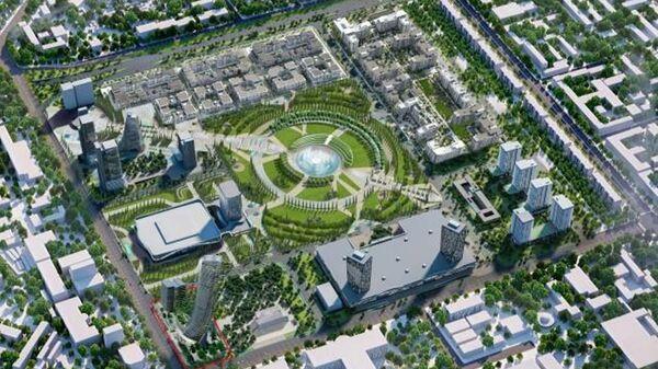 Проект самого высокого здания в Ташкенте - Sputnik Узбекистан