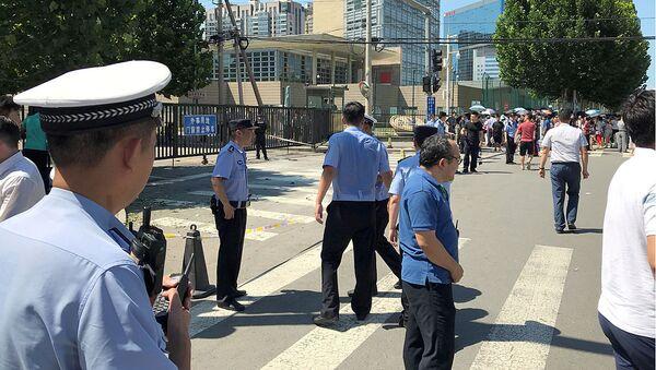 Посольство США вПекине. 26 июля 2018 - Sputnik Ўзбекистон