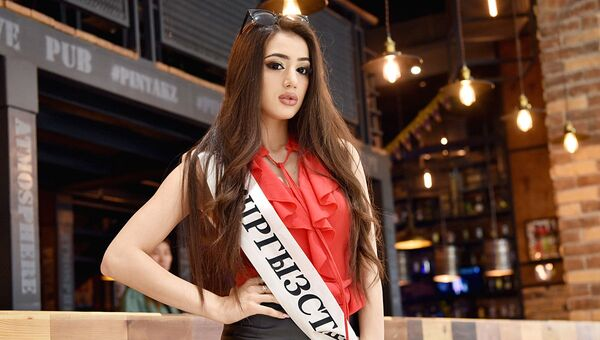 Участница конкурса красоты Мисс СНГ-2018 из Кыргызстана Сусанна Егорян - Sputnik Ўзбекистон