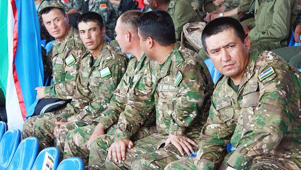 Военнослужащие из Узбекистана на АрМи 2018 - Sputnik Узбекистан