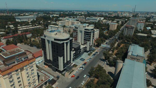 Столица Кыргызстана - город Бишкек. - Sputnik Ўзбекистон