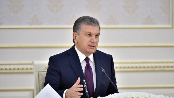 Шавкат Мирзиёев провел совещание по сельскому хозяйстве - Sputnik Узбекистан