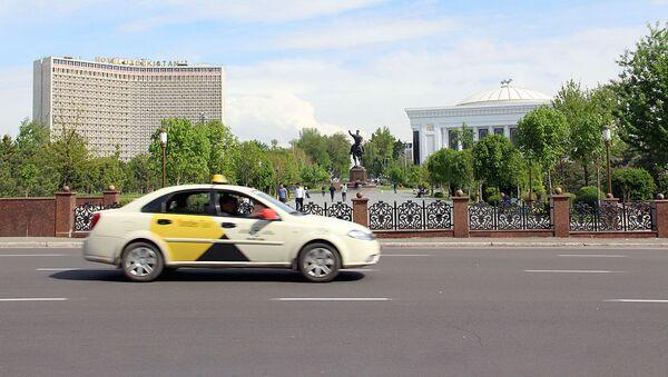 Avtomobil Yandex Taxi - Sputnik Oʻzbekiston