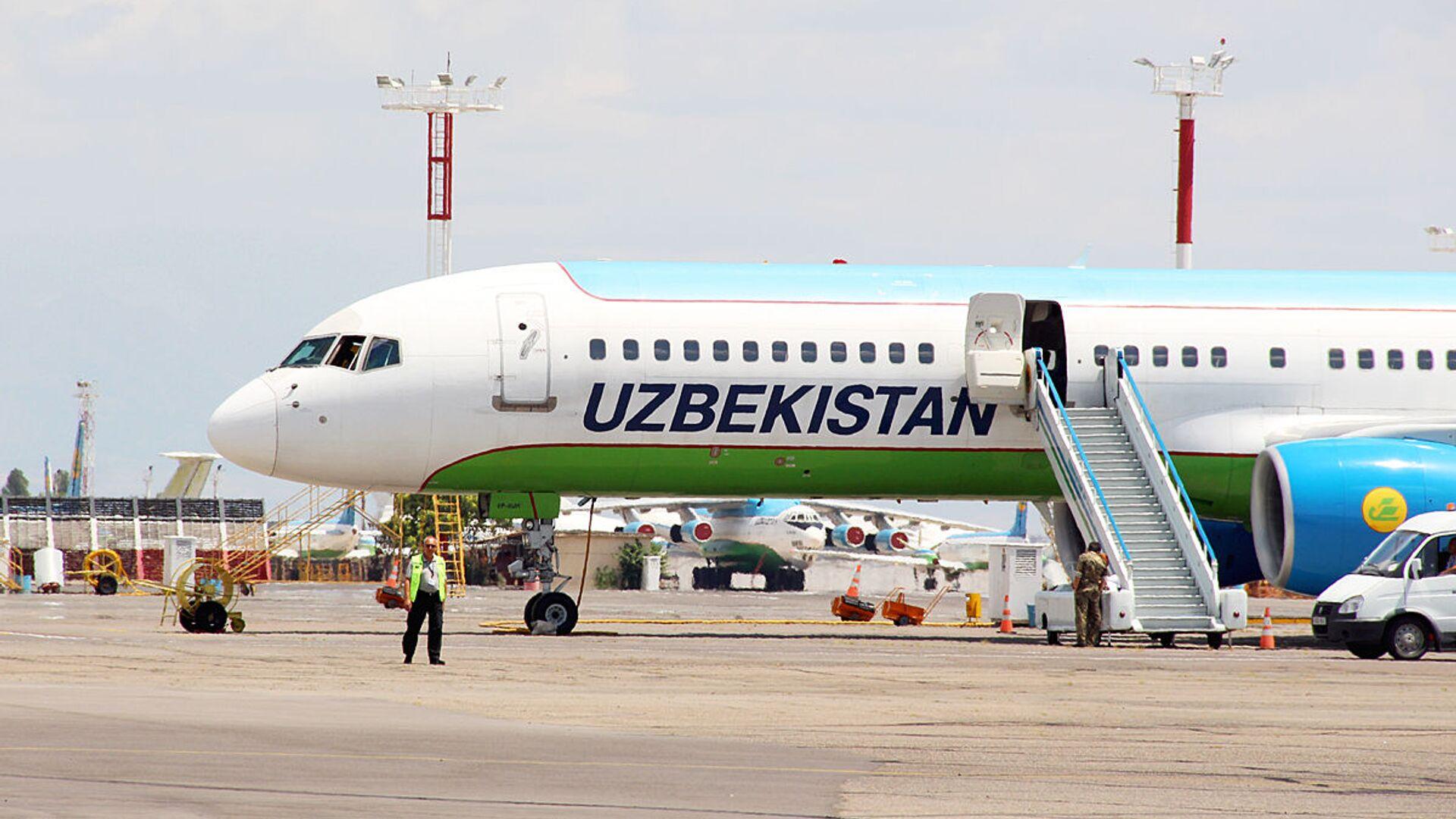 Boeing 757 узбекских авиалиний - Sputnik Ўзбекистон, 1920, 30.06.2021