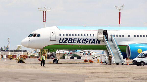 Boeing 757 узбекских авиалиний - Sputnik Ўзбекистон