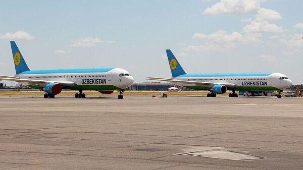 Boeing 767 uzbekskix avialiniy - Sputnik Oʻzbekiston