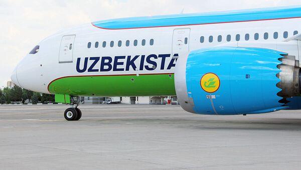 Dreamliner узбекских авиалиний - Sputnik Ўзбекистон
