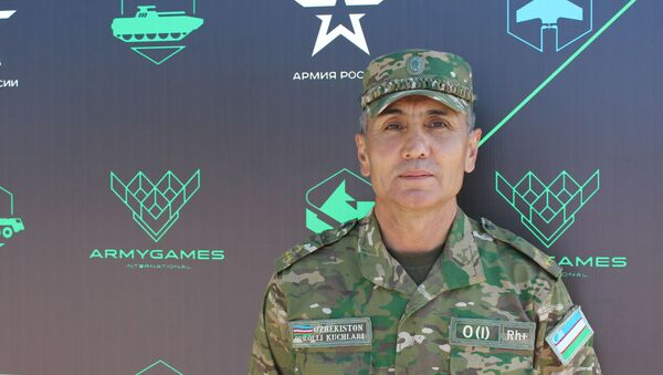 Руководитель команды разведчиков из Узбекистана Шухрат Икрамов - Sputnik Узбекистан