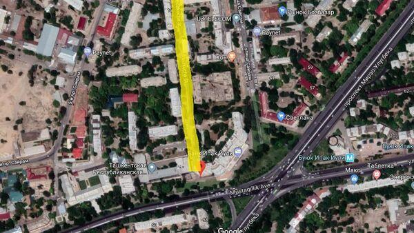 Возобновление движения по улице Бузкуча в Ташкенте - Sputnik Ўзбекистон