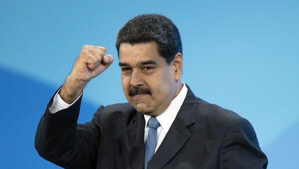 Президент Боливарианской Республики Венесуэла Николас Мадуро - Sputnik Ўзбекистон