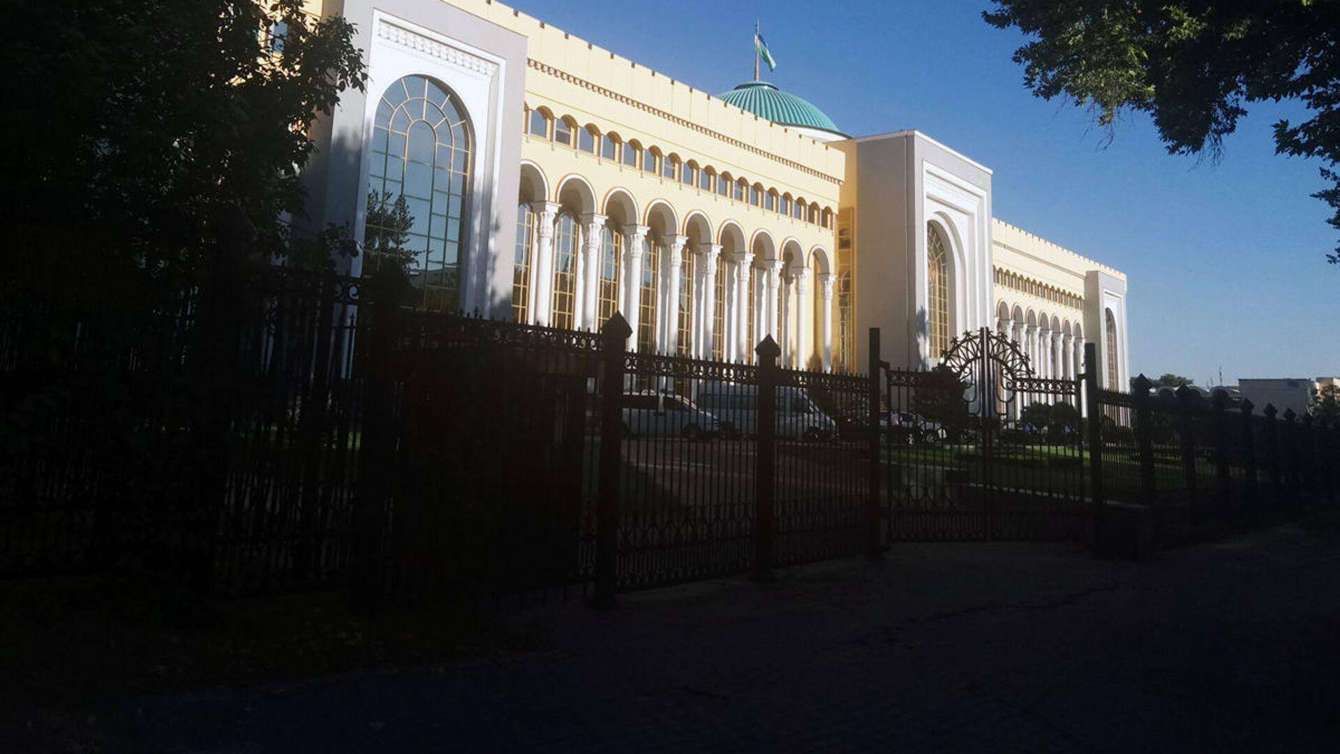 Здание МИД Узбекистана - Sputnik Ўзбекистон, 1920, 06.09.2021