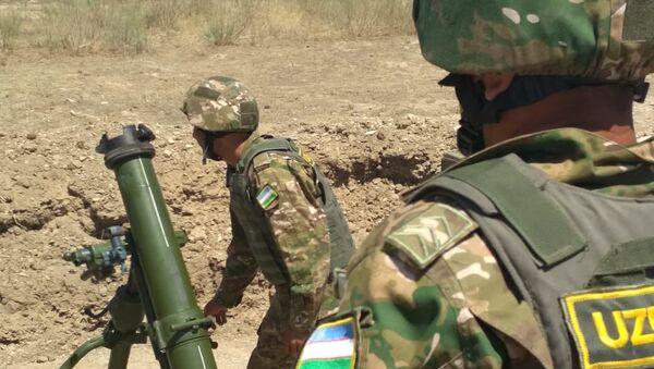 Узбекские артиллеристы вышли в финал Армейских игр - Sputnik Узбекистан