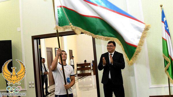 В НОК состоялись проводы спортсменов на Азиатские игры и презентация новой экипировки - Sputnik Ўзбекистон