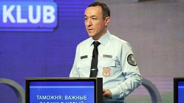 Ravshan Tadjiyev - nachalnik spetsializirovanogo tamojennogo kompleksa TASHKENT AERO - Sputnik Oʻzbekiston