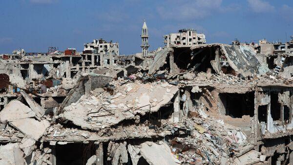 Сирийский город Хомс - Sputnik Узбекистан